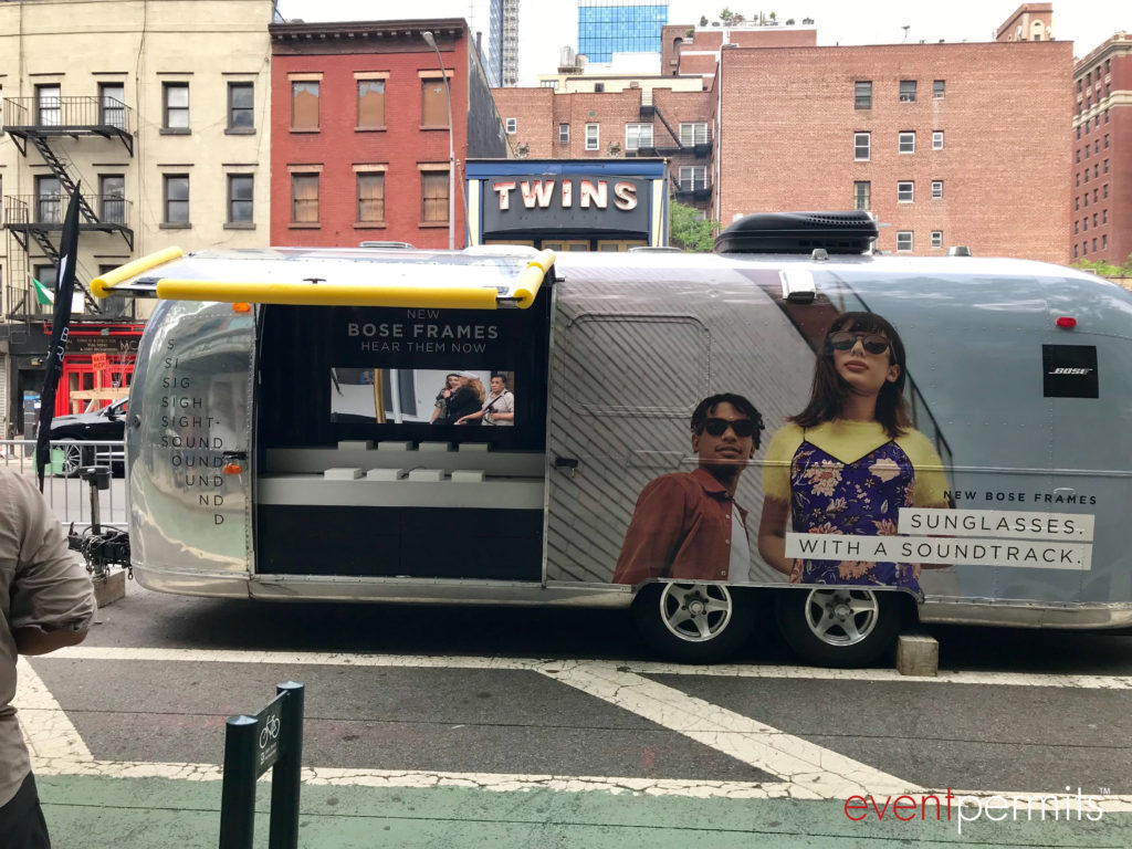 Bose Frames Airstream NYC